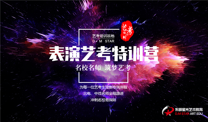 东明星光艺术教育表演艺考集训班