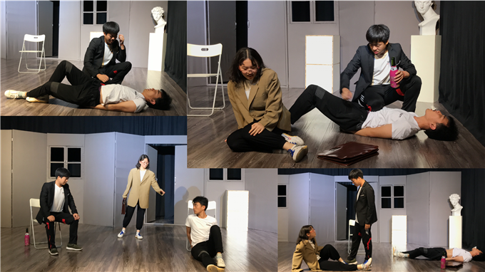 东明星光表演课堂│2019级演员训练班即兴表演训练